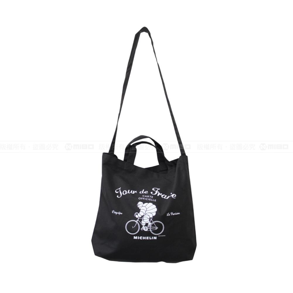 日本潮流 肩背/手提兩用袋 / 2Way tote bag / Tour de France / Black【日本原裝進口】