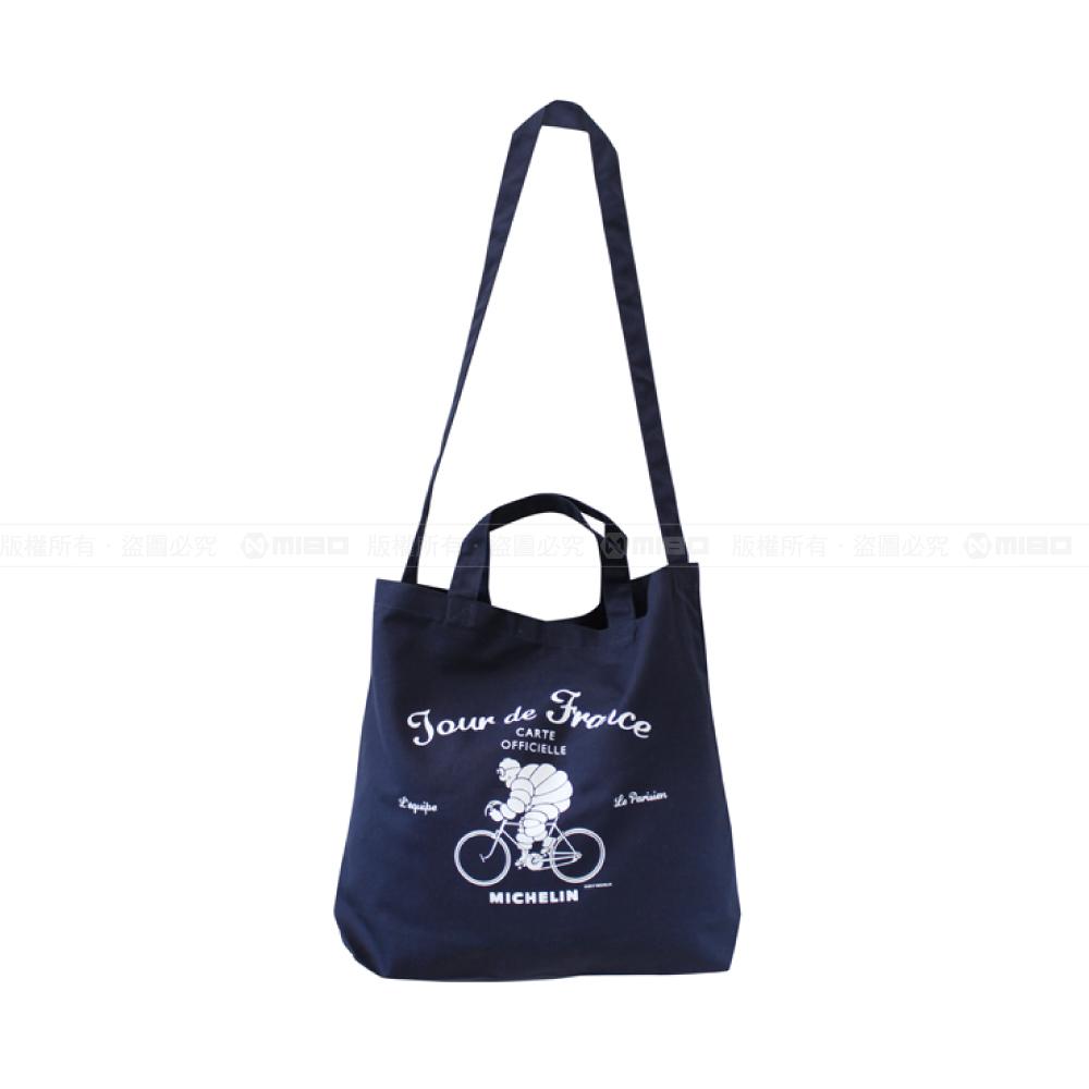 日本潮流 肩背/手提兩用袋 / 2Way tote bag / Tour de France / Navy【日本原裝進口】