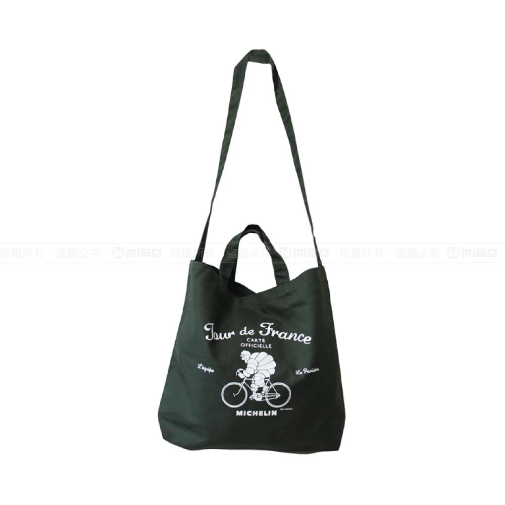日本潮流 肩背/手提兩用袋 / 2Way tote bag / Tour de France / Green【日本原裝進口】